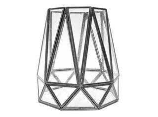 Fanal Iron Glass 21x21x23cm Alaniz Home,,hi-res