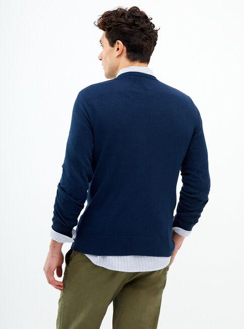 Sweater%20Liso%20Cuello%20V%20American%20Eagle%2CAzul%20Oscuro%2Chi-res