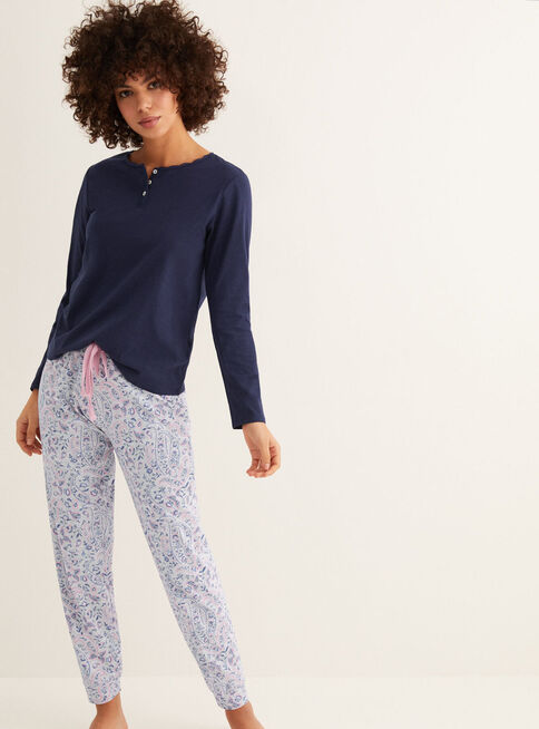 Polera%20Pijama%20Mix%26Match%20Azul%20Women'Secret%2CAzul%20Oscuro%2Chi-res