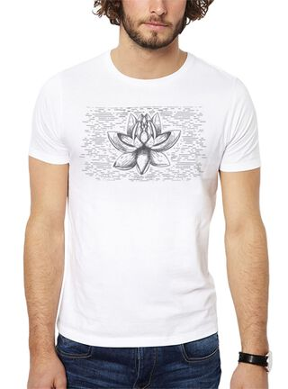 Polera Lotus Get Out,Blanco,hi-res