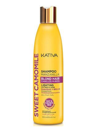 Shampoo Cabellos Rubios Sweet Camomile Kativa,,hi-res