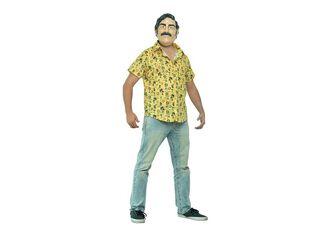 Disfraz Pablo Escobar Carnaval,Único Color,hi-res