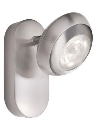Lámpara Apliqué Sepia Aluminio Gris 1 Luz 11 cm Philips,,hi-res