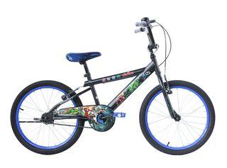 Bicicleta MTB Lahsen Avengers Aro 20,Plata,hi-res