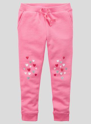 Pantalón Niña 2 A 5 Años Carter's,Coral,hi-res