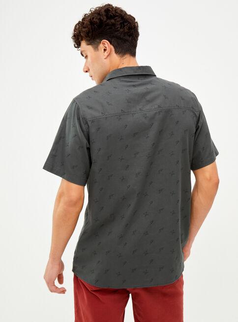 Camisa%20Manga%20Corta%20Algod%C3%B3n%20Oakley%2CAzul%2Chi-res