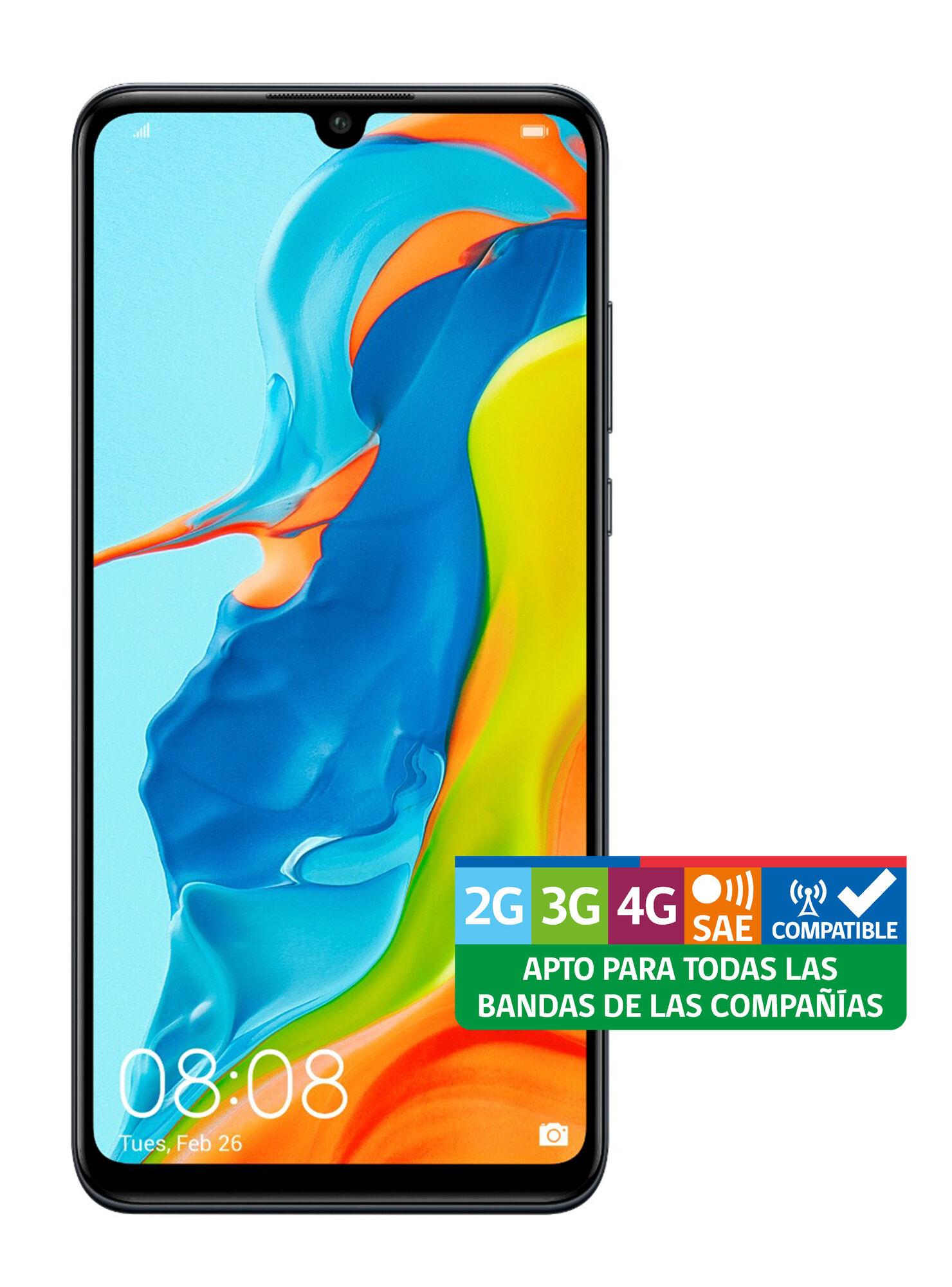 Smartphone Huawei P30 Lite 256 GB Negro Liberado