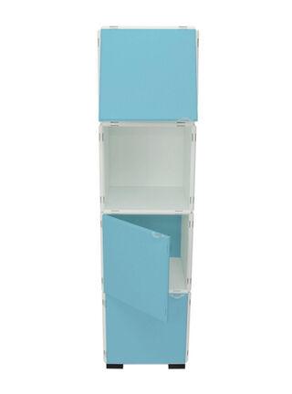 Mueble Modular Set 20 Piezas Blanco Celeste Kab Möbel,,hi-res