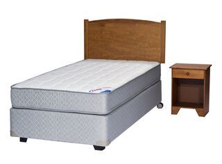 Box Spring Therapedic 1.5 Plazas Arezzo Flex,,hi-res
