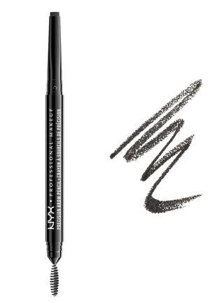 Esculpidor para Cejas Precision Brow Pencil - Black NYX Professional Makeup,,hi-res