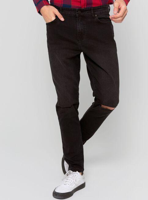 Jeans%20Skinny%20Tajo%20Rodilla%20Foster%2CNegro%2Chi-res