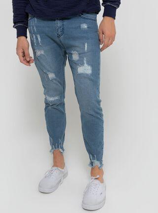 Jeans Tiro Alto Rock Ellus,Azul,hi-res