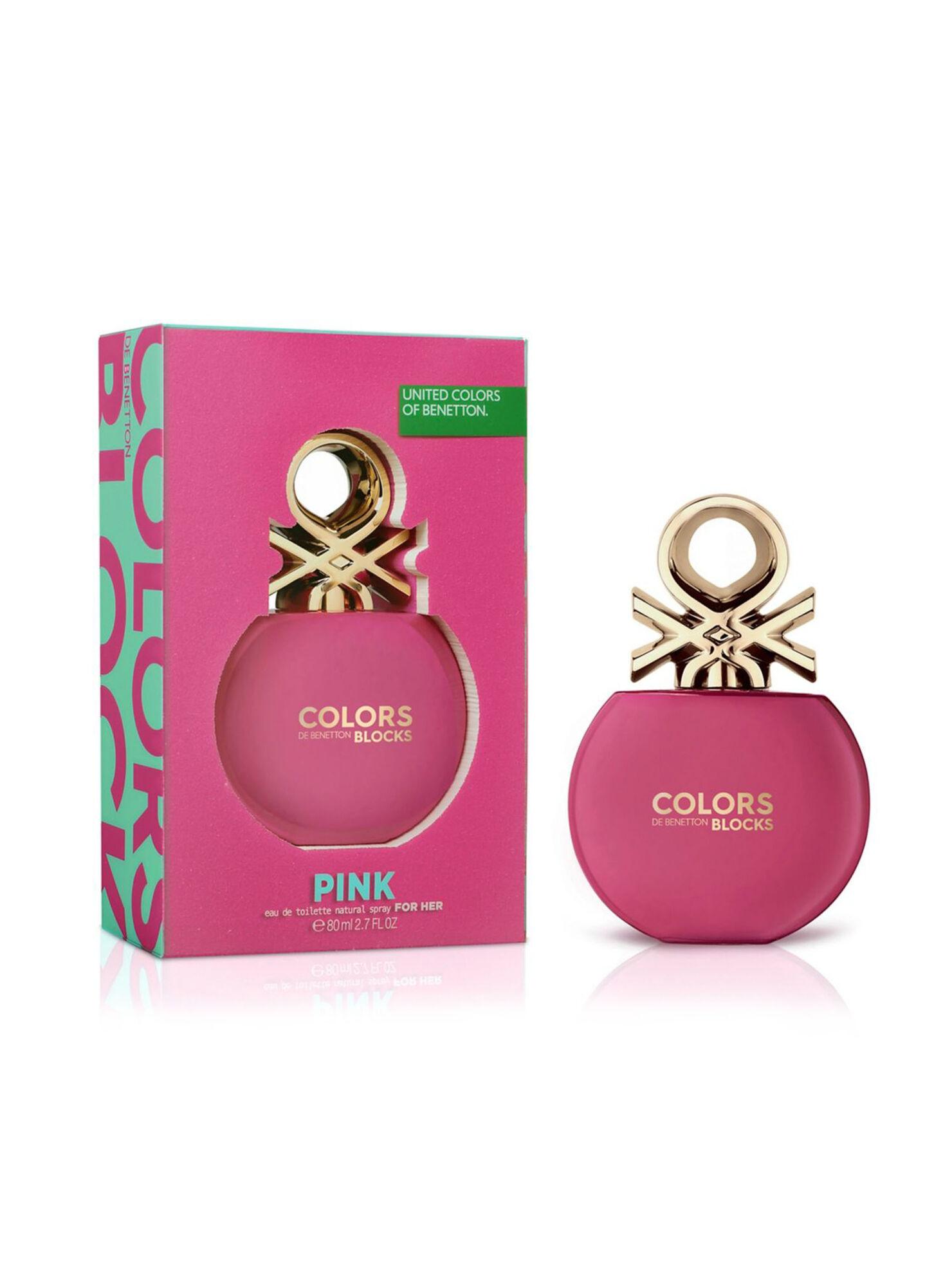 diseño exquisito mejor venta 50% rebajado Perfume Benetton Colors Pink EDT 80 ml en Perfumes Mujer | Paris