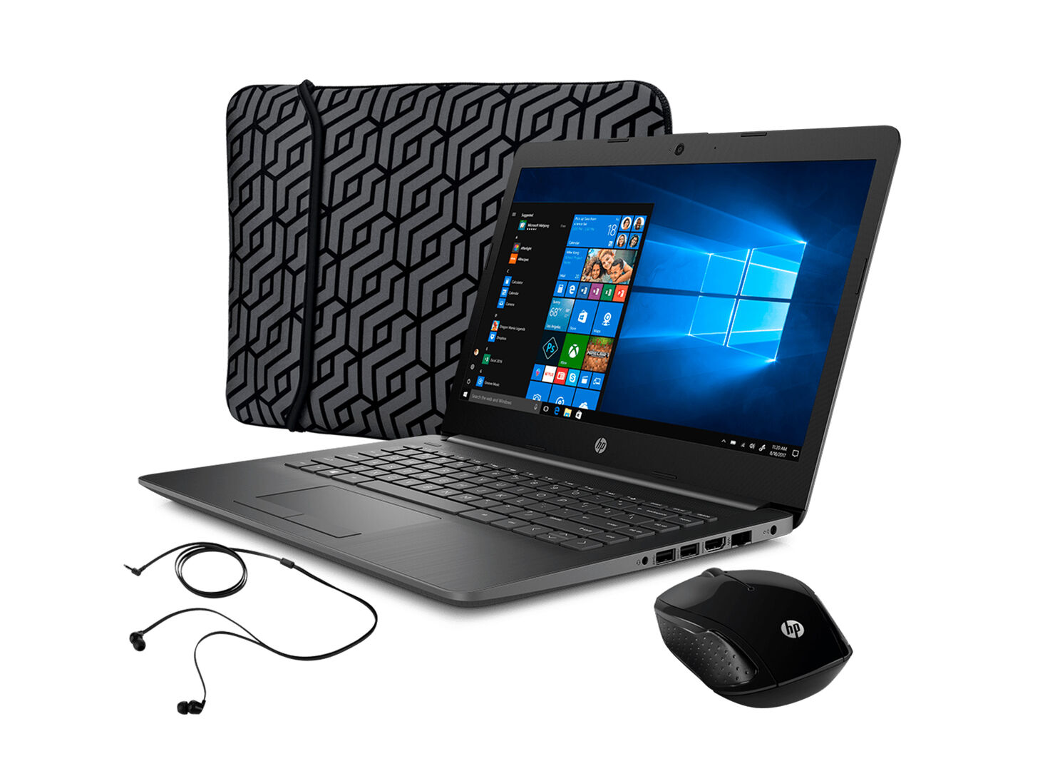 Notebook HP 14-ck0039la Intel Celeron N4000 4GB 500GB 14.0