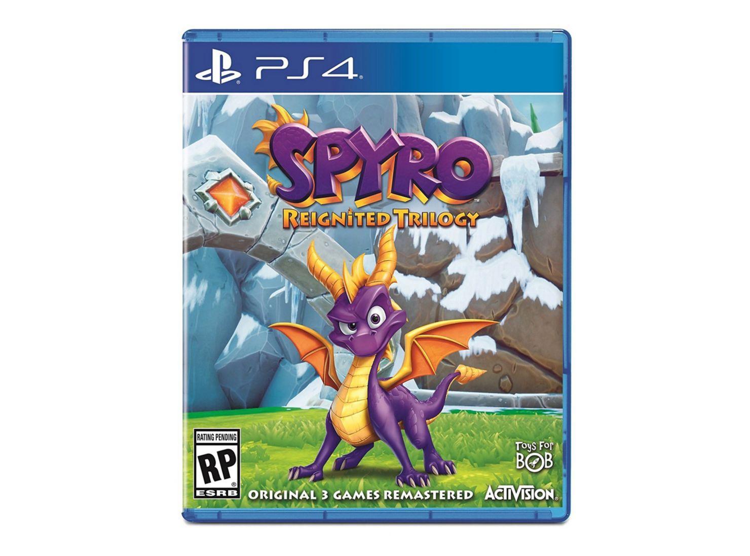 Juego Ps4 Spyro Reignited Trilogy Juegos Ps4 Y Vr Paris
