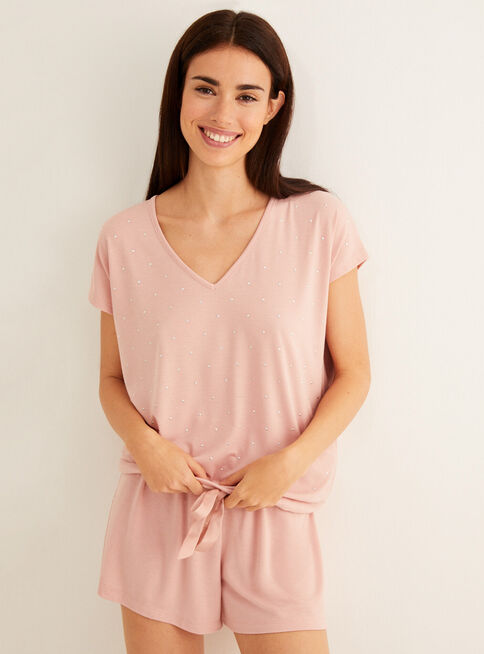 Pijama%20Liso%20Daily%20Soft%20Pink%20Women'Secret%2CCoral%2Chi-res