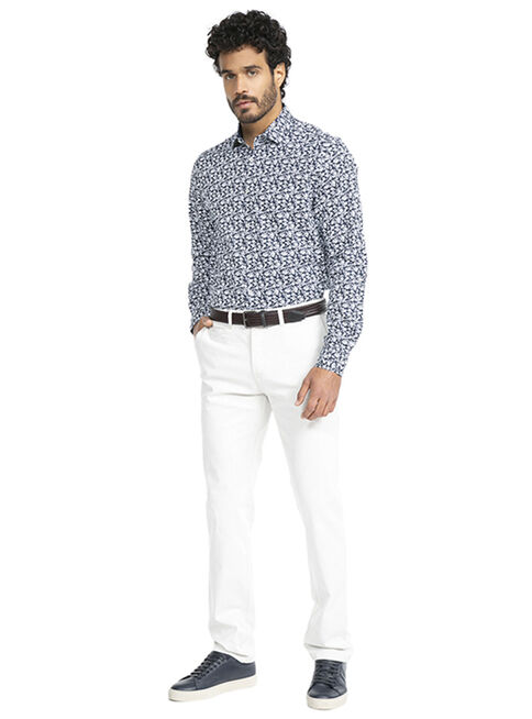 Camisa%20Floreada%20Navy%20Tailored%20Fit%20Arrow%2CAzul%20Marino%2Chi-res