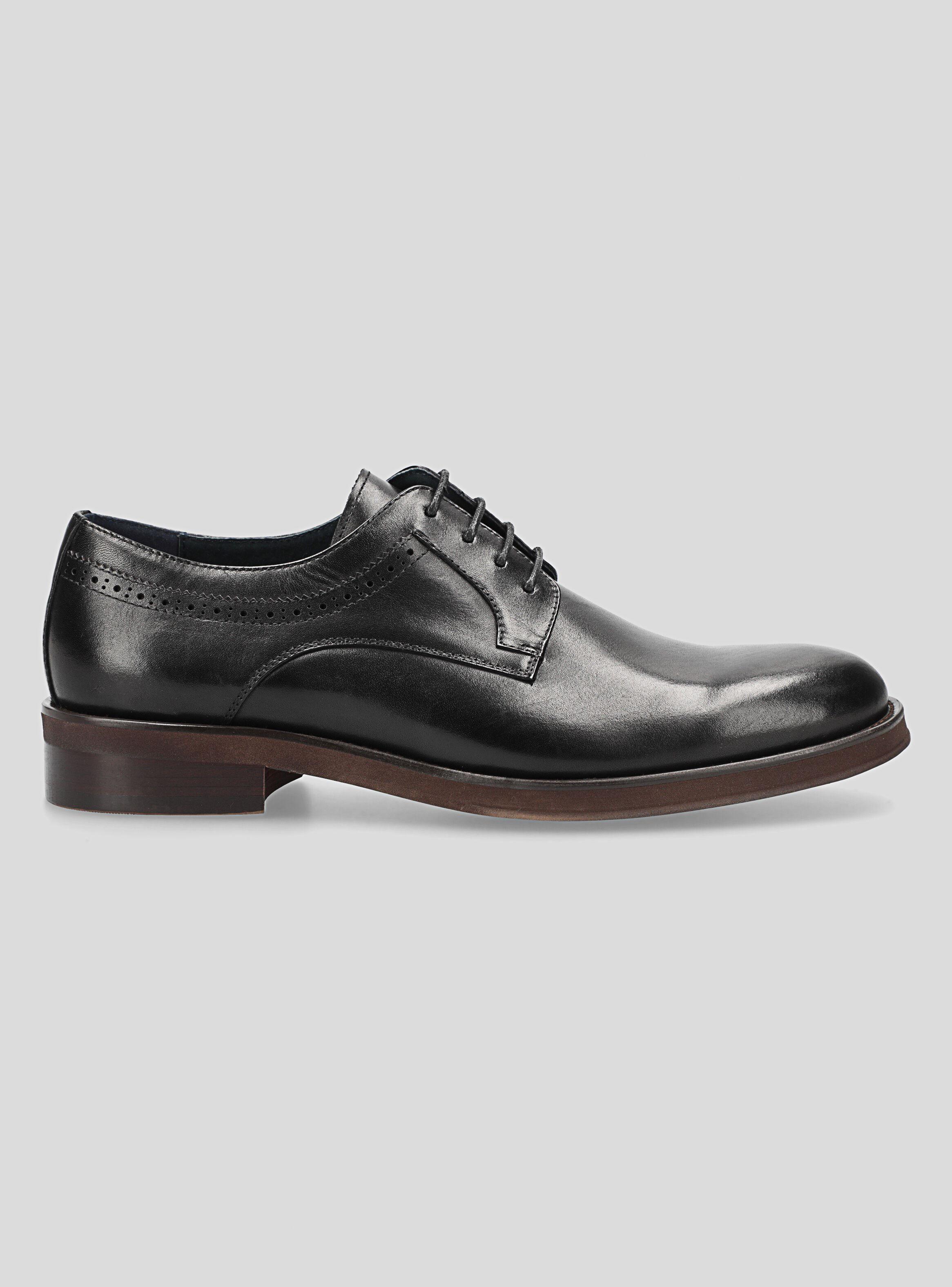 Zapato Arrow Negro Vestir Hombre