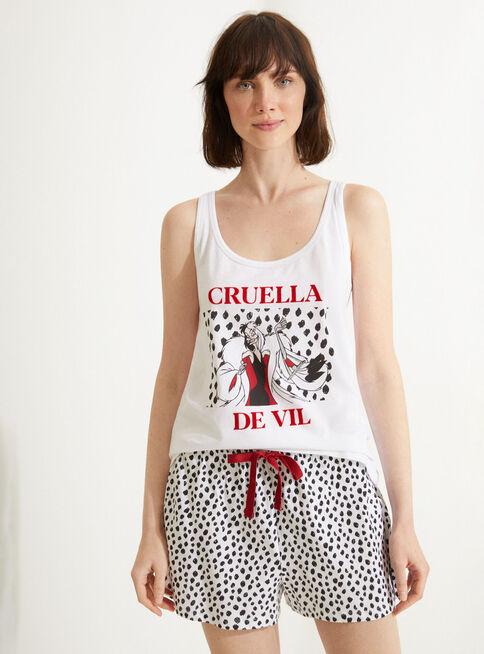 Pijama%20Tiritas%20101%20Dalmatians%20Women'%20Secret%2CBlanco%2Chi-res