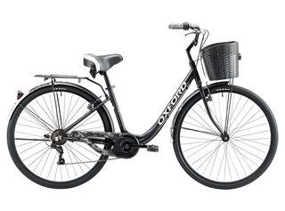 Bicicleta Paseo Oxford Cyclotour Aro 28,Negro Mate,hi-res