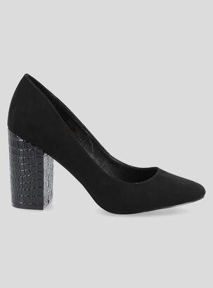 9fe0e3268595 Zapato de Vestir Marittimo Taco Textura Mujer