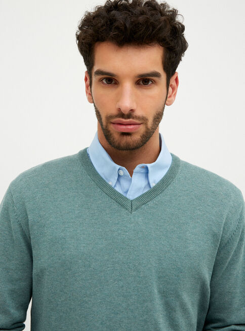 Sweater%20Manga%20Larga%20Cuello%20V%20%2CVerde%20Olivo%2Chi-res