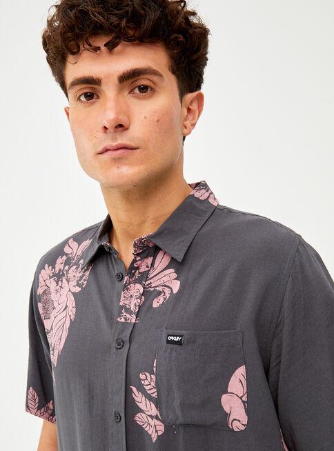 Camisa%20Manga%20Corta%20Viscosa%20Print%20Oakley%2CAzul%2Chi-res