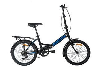 Bicicleta Avalanche Tianj Plegable,Negro,hi-res