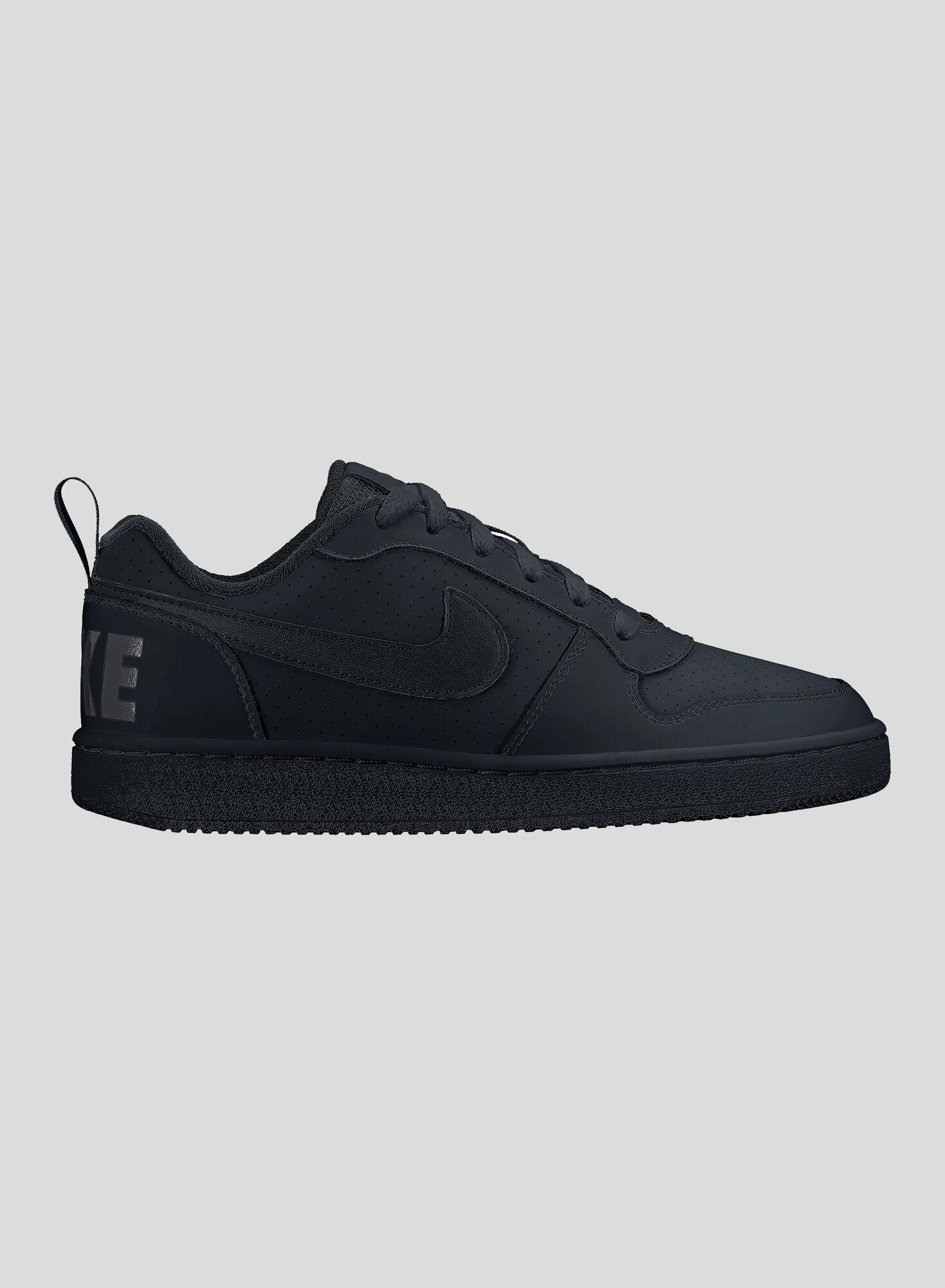 29edd3946 Zapatilla Nike JR Court Borough Low Negro en Zapatillas