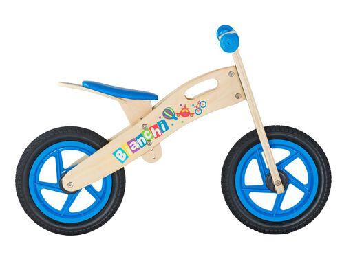 Bicicleta Madera Bianchi Wooden Niño Aro 12 Azul,Azul,hi-res