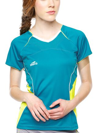 Camiseta Mujer T-Shirt Drava,Turquesa,hi-res