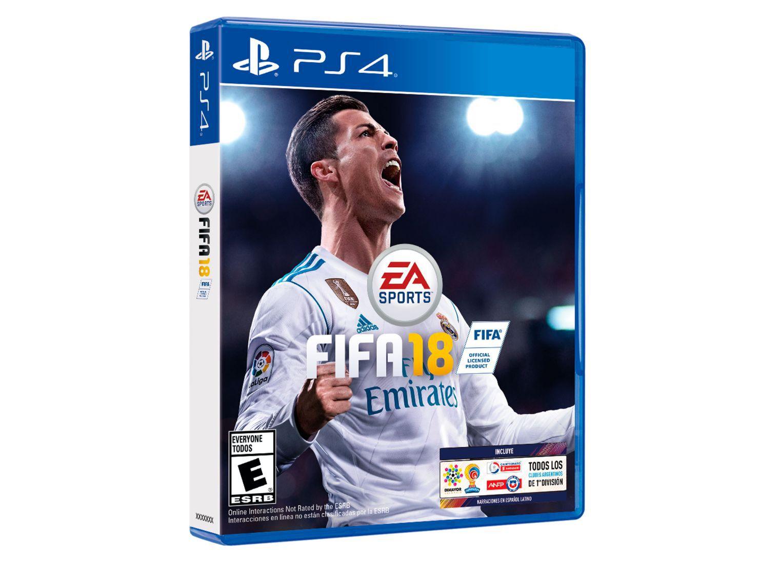 Desagradable coro Ministro  Juego PS4 Fifa 18 - PlayStation | Paris.cl