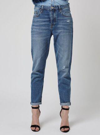 Jeans Hayden Mid Denim L 30 Topshop,Único Color,hi-res
