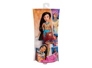 Muñeca Princesa Pocahontas Vestido Brillante,,hi-res