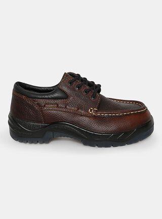 Zapato de Seguridad Nazca Elegance Hombre,Café,hi-res