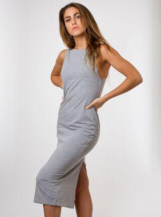 Vestido Halter Keola,Ceniza,hi-res