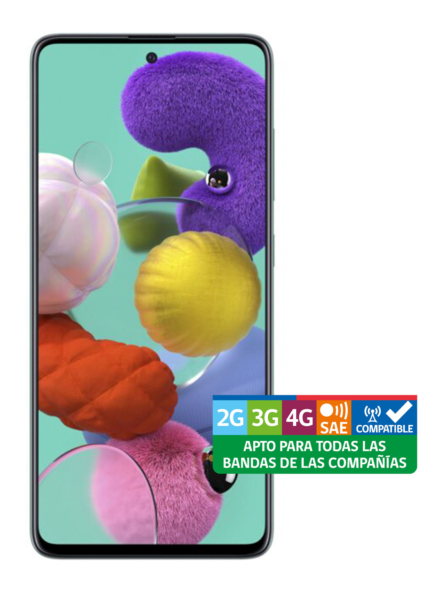 Smartphone Samsung Galaxy A51 128GB Azul Liberado