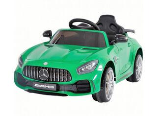 Auto Mercedes Benz Verde con Batería Paris,,hi-res