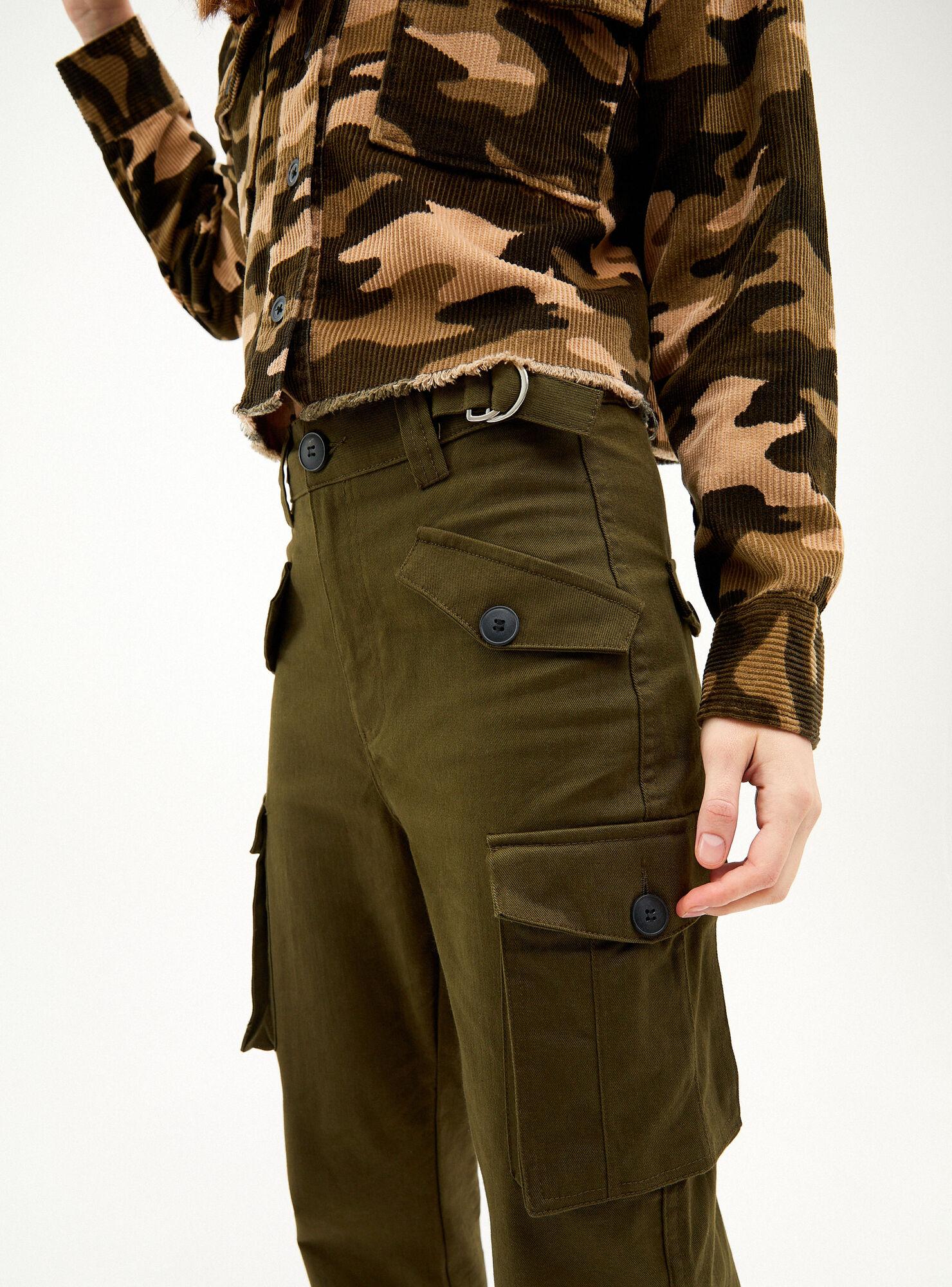 Pantalon Cargo Bershka Jeans Y Pantalones Paris Cl