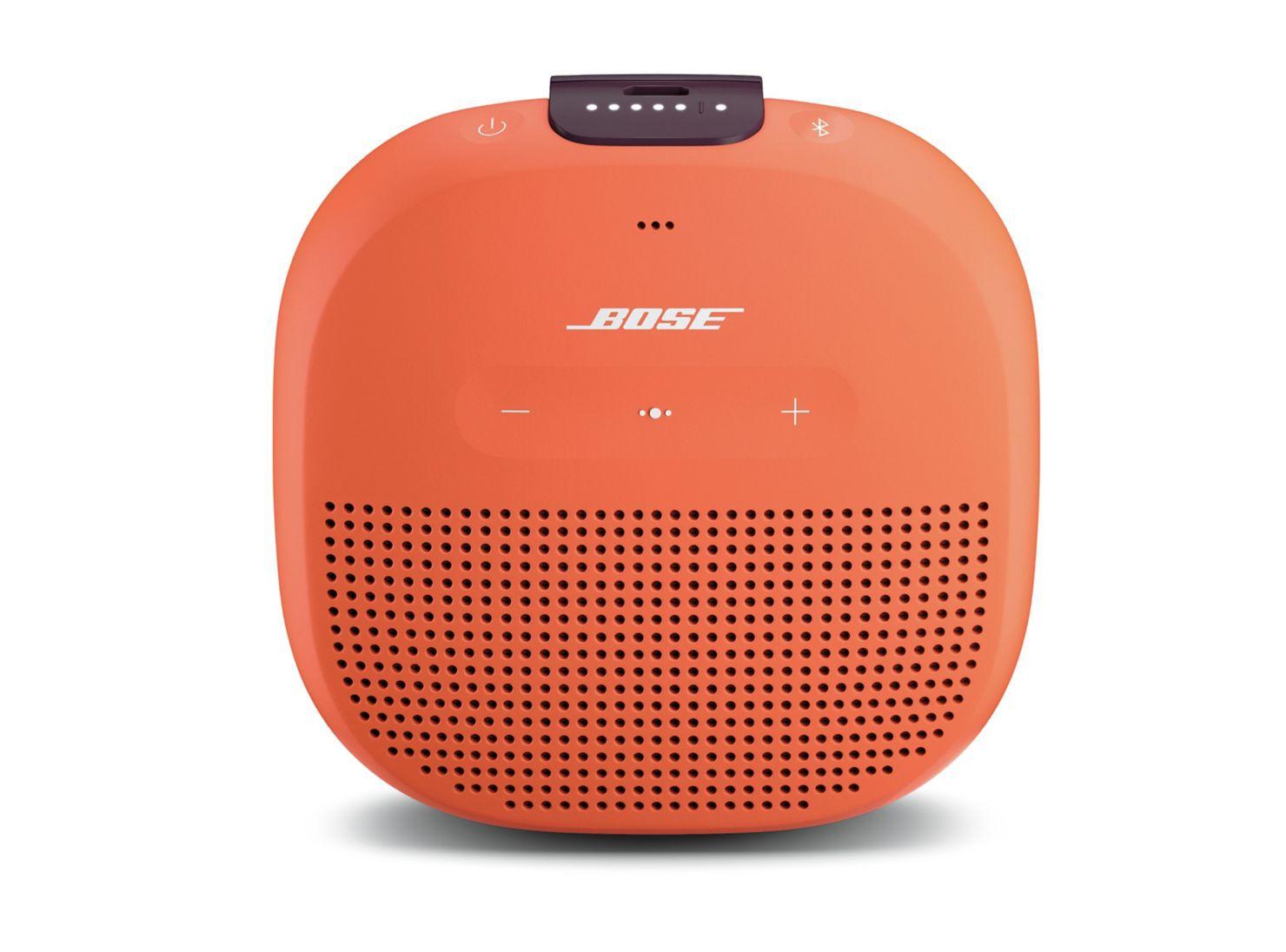 d1f1656542da Parlante Bose Soundlink Micro Bluetooth Naranjo en Audio