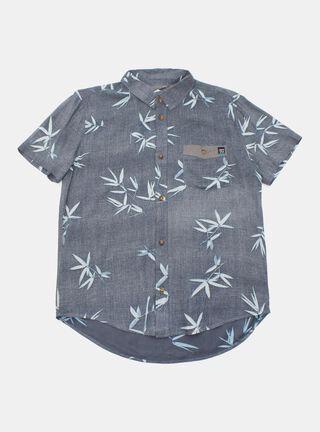 Camisa Aussie Hojas Niño,Marengo,hi-res