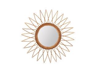 Espejo Rústico Girasol Alaniz Home 23/60 x 3 cm,,hi-res