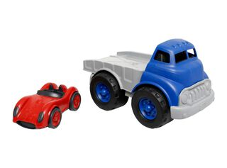 Auto Flatbed W/Red Green Toys,,hi-res