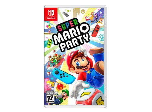Juego Nintendo Switch Super Mario Party Juegos Nintendo Paris