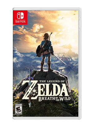JUEGO NINTENDO SWITCH THE LEGEND OF ZELDA BREATH OF THE WILD