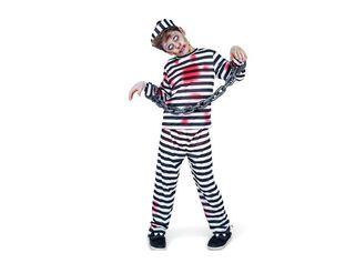 Disfraz Prisionero Niño Carnaval,Único Color,hi-res