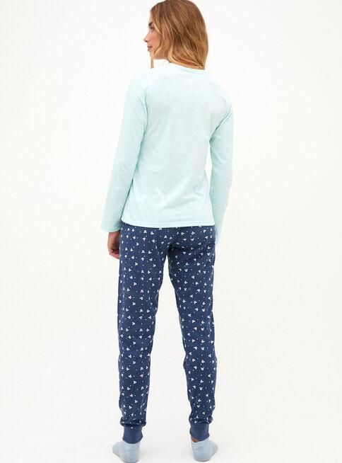 Pijama%20con%20Estampado%20Flock%20Opposite%2CTurquesa%2Chi-res