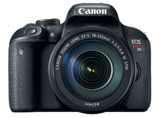 Cámara Canon EOS Rebel T7i + Lente 18-135M,,hi-res