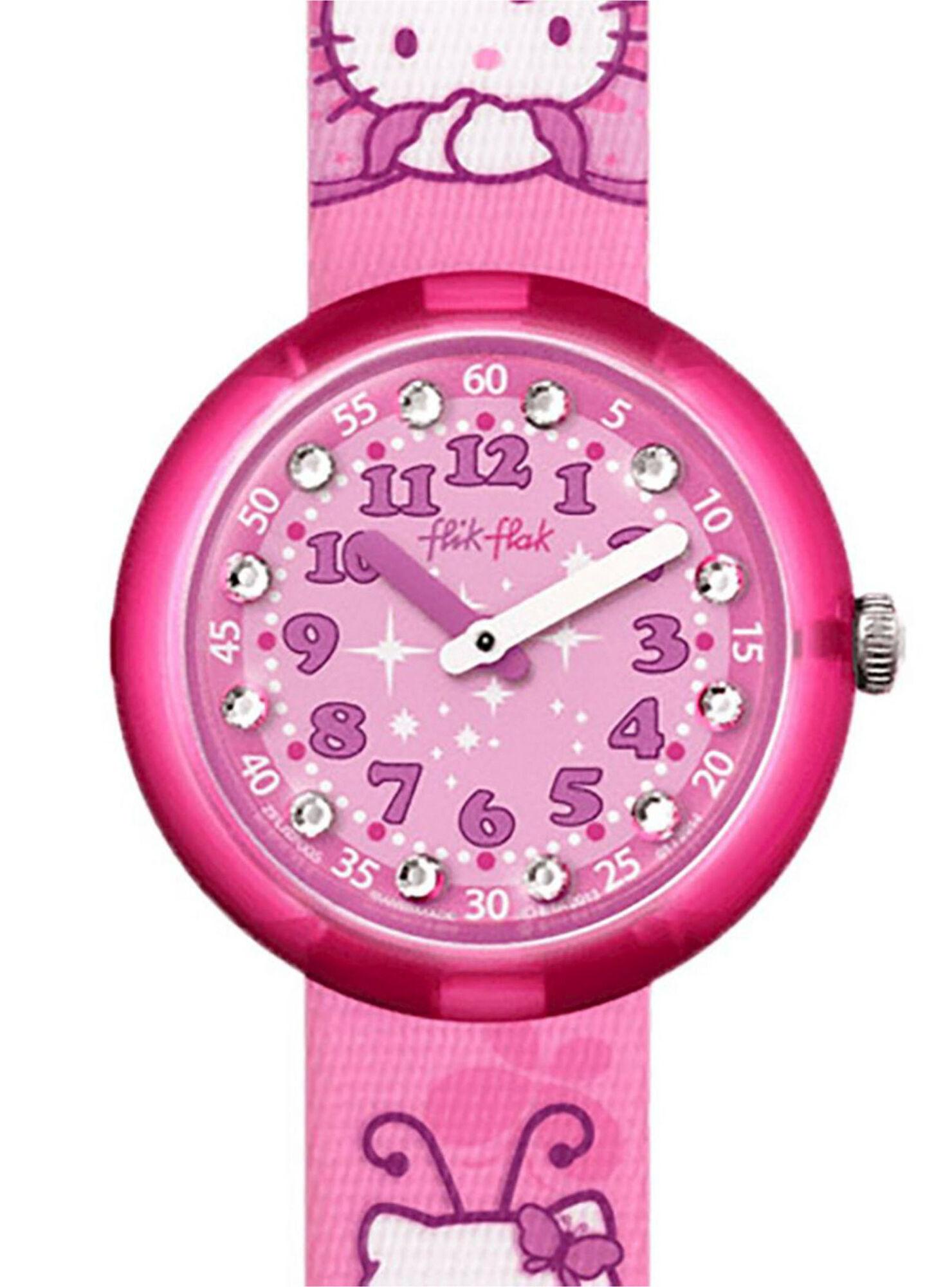 0a4ddd64378e Reloj Análogo Flik Flak Hello Kitty Mujer en Relojes