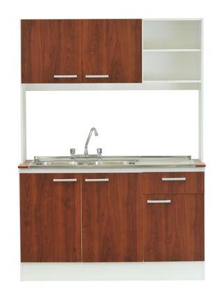 Kit Mueble de Cocina + Lavaplatos Doble Lonquimay Mobikit,,hi-res